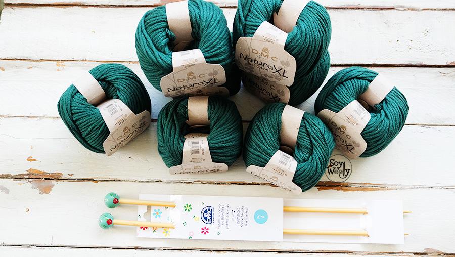 Sorteo Internacional Soy Woolly Gana 800 gr de algodon para tejer