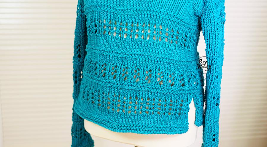 Como coser un jersey tejido en dos agujas costura invisible