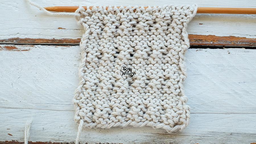 Puntos para tejer prendas de invierno tricot calceta palitos