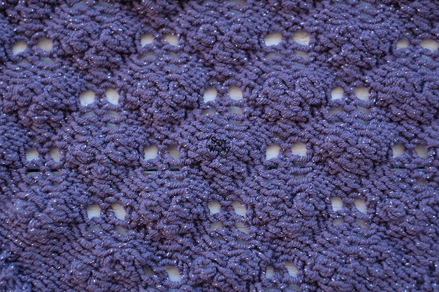 Como tejer encaje estonio calceta palitos dos agujas