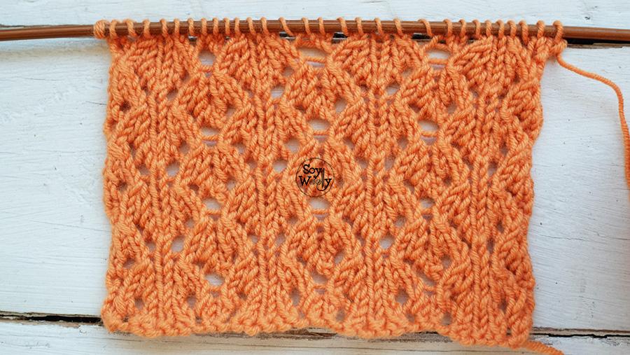 Punto Calado tejidos de Primavera tricot palillos palitos