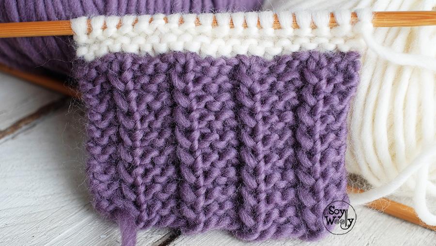 Truco seguro facil y rapido para unir lana sin nudos dos agujas