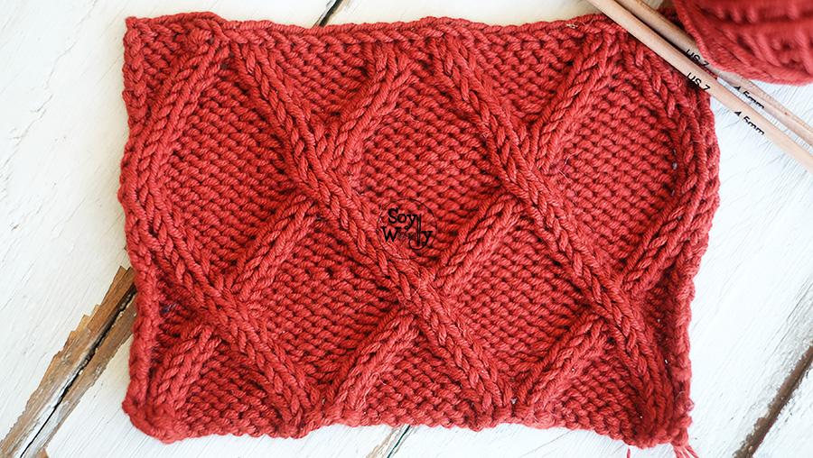 Todo lo que necesitas saber para tejer un cuello bufanda infinita crochet tricot