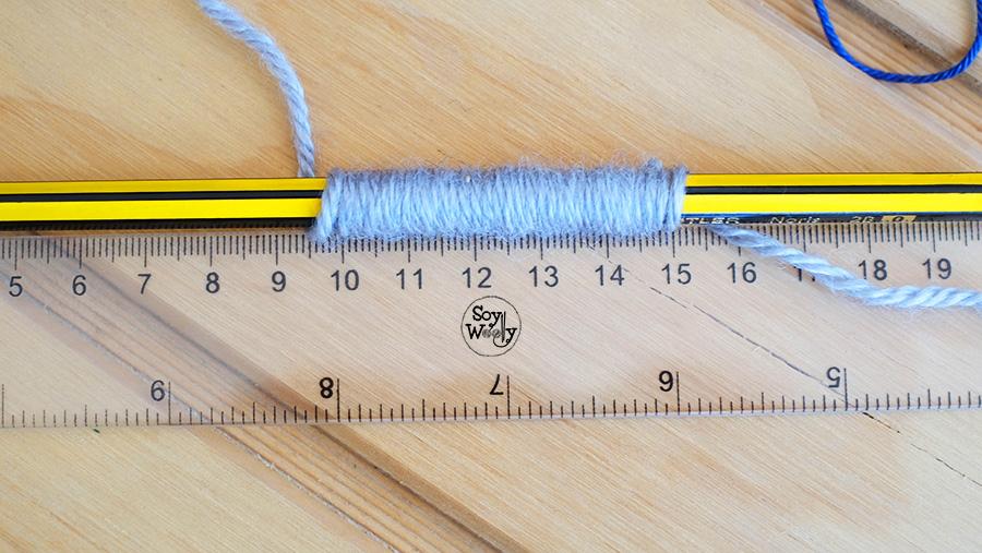 3 sencillos pasos para medir el grosor de la lana